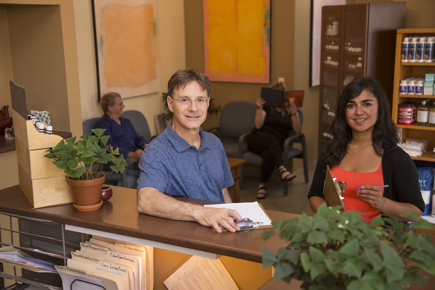 Lars and elham pic for digestive wellness